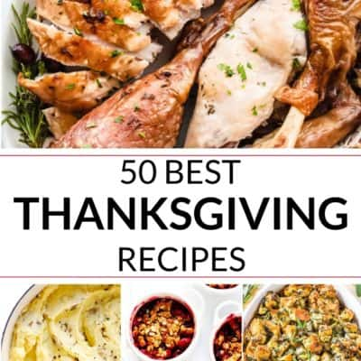 COLLECTION OF BEST thanksgiving dishes