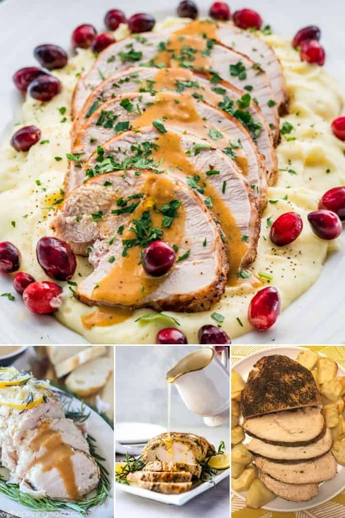 Collection of Instant Pot Turkey Breast recipes