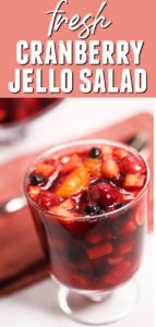 Cranberry Jello Recipe