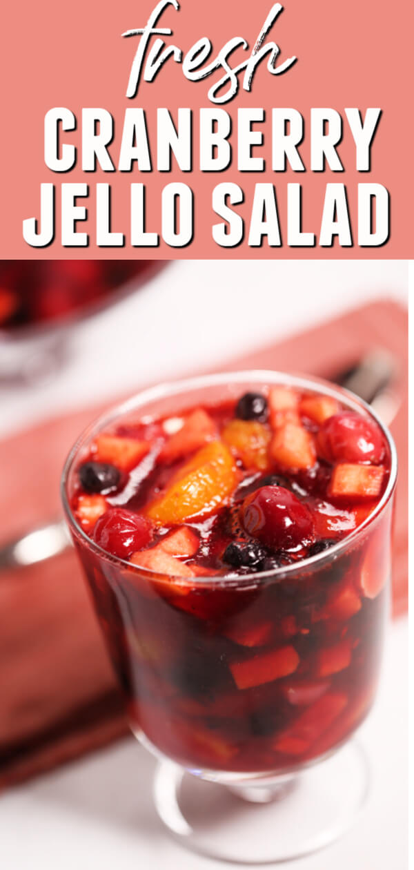 Make this refreshing Cranberry Jello Salad for dessert for your festive parties or have it as tasty side dish for your holiday table.  This fruity twist really makes this jello salad a real treat.  #itisakeeper #recipe #recipes #cranberry #jello #jellosalad #sidedish #dessert #makeahead #christmas #thanksgiving #easyrecipe