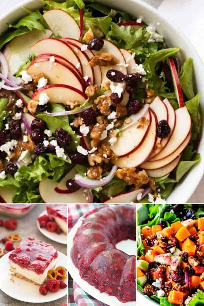 COLLECTION OF CRANBERRY SALAD RECIPES