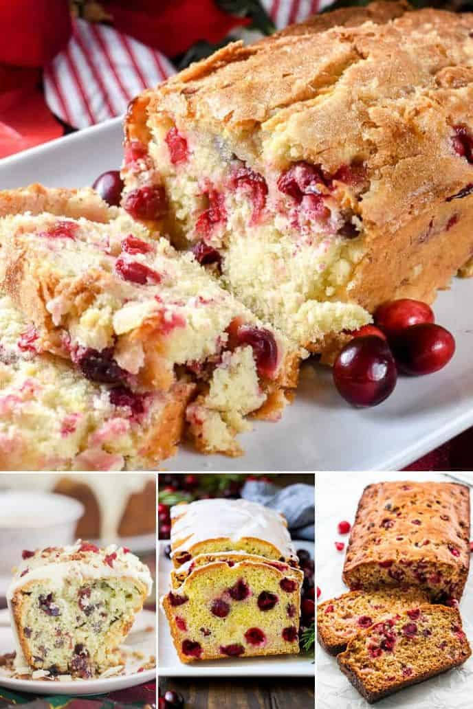 COLLECTION OF CRANBERRY BREAD RECIPES