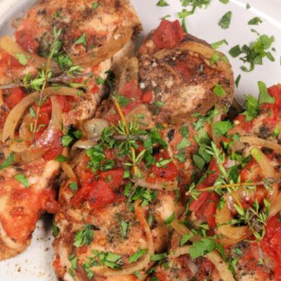 Garlic Balsamic Chicken Slow cooker chicken recipes