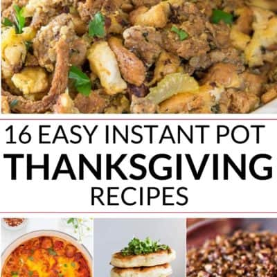Collection of Instant Pot Thanksgiving Recipes