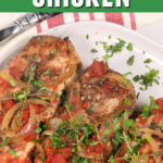Slow Cooker Balsamic Chicken with Garlic