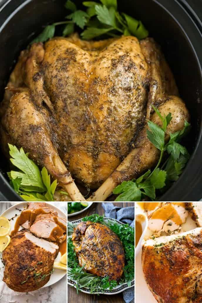 collection of slow cooker turkey recipes