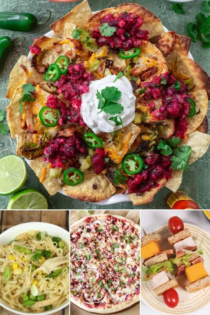 Collection of Recipes for Leftover Turkey