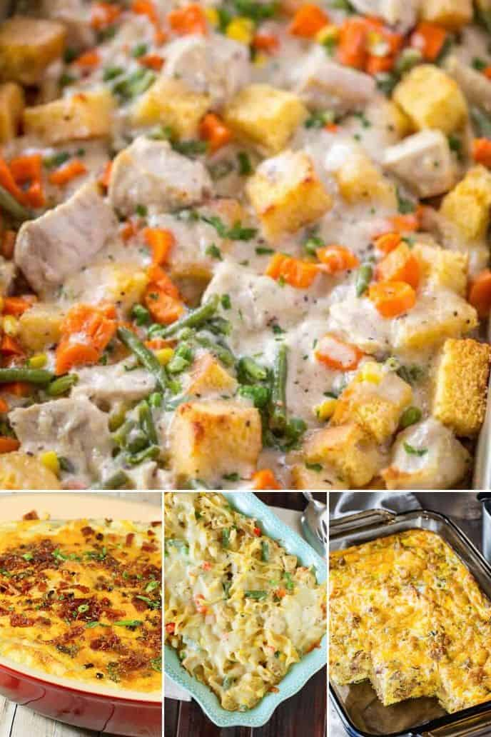 Collection of Thanksgiving Casserole Recipes