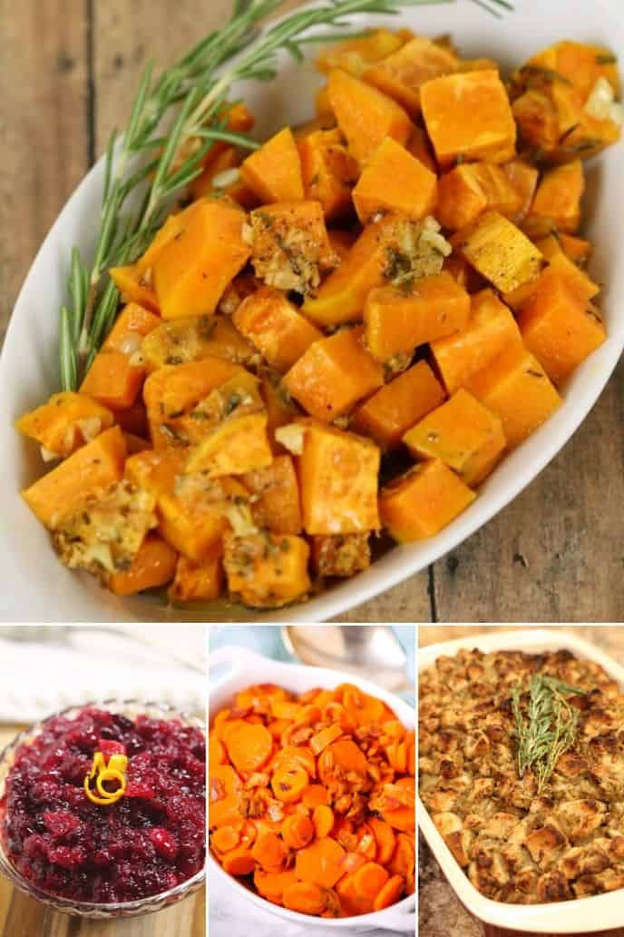Collection of best thanksgiving side dishes