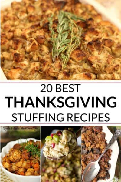 COLLECTION OF Thanksgiving stuffing recipeS