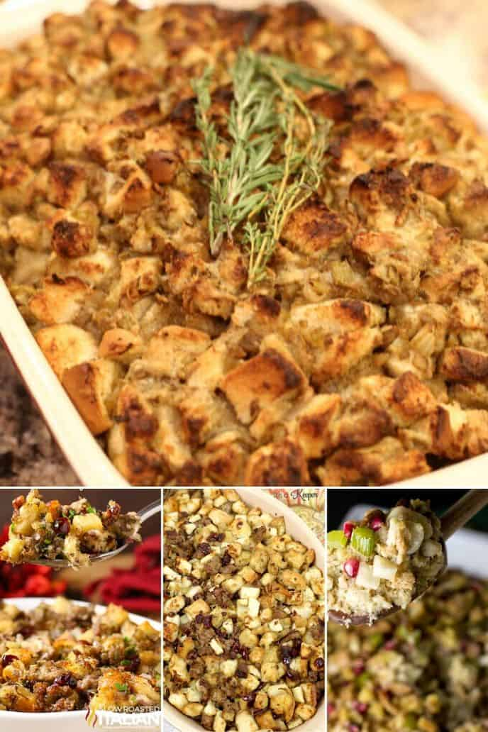 COLLECTION OF homemade stuffing recipe