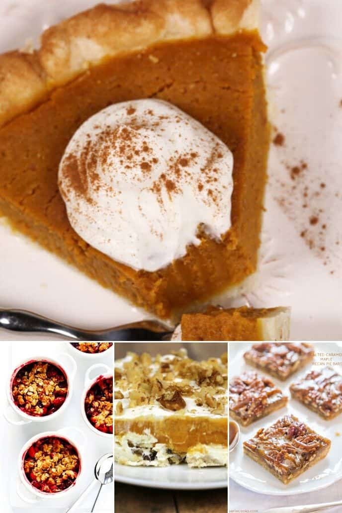 COLLECTION OF Best Thanksgiving Desserts