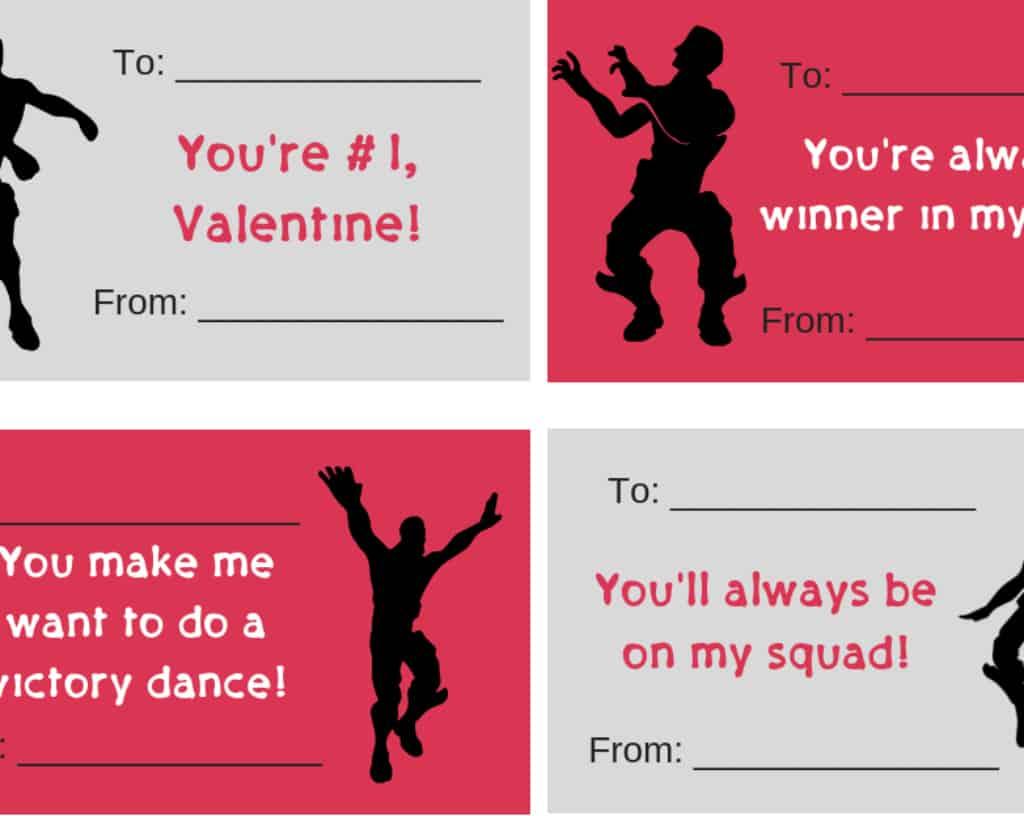 Fortnite Valentines (free printable Valentine cards)   It Is