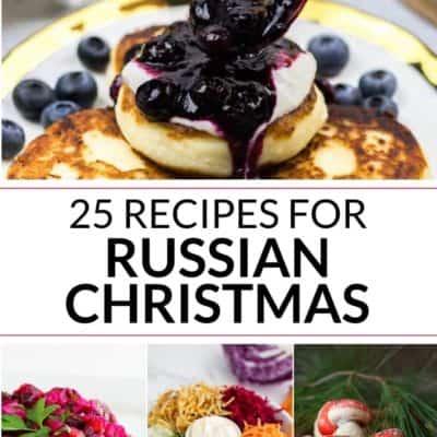 Traditional Russian Christmas Food