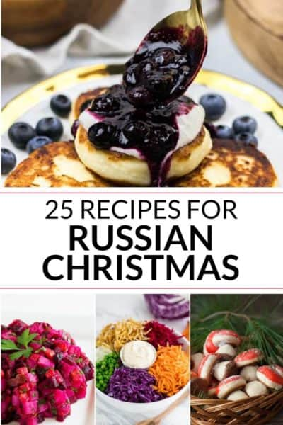 Collection of Russian Christmas recipes
