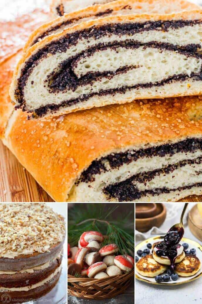 Collection of sweet Russian Christmas recipes