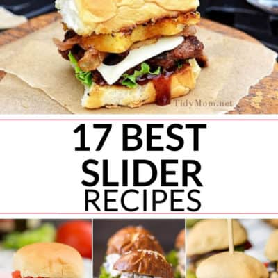 The Best Sliders Burgers and More