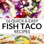 Quick and Easy Fish Taco Recipes