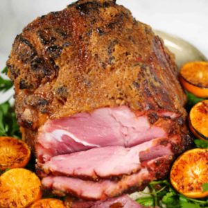 Nothing says special family dinner like this delish Honey Baked Ham recipe. For Sunday dinners, holiday celebrations or family get togethers, this will be your favorite ham glaze recipe.