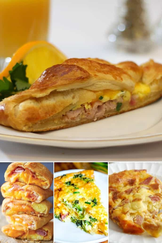 A collection of delicious breakfast ham recipe