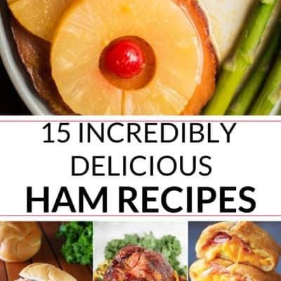 A collection of delicious ham recipe