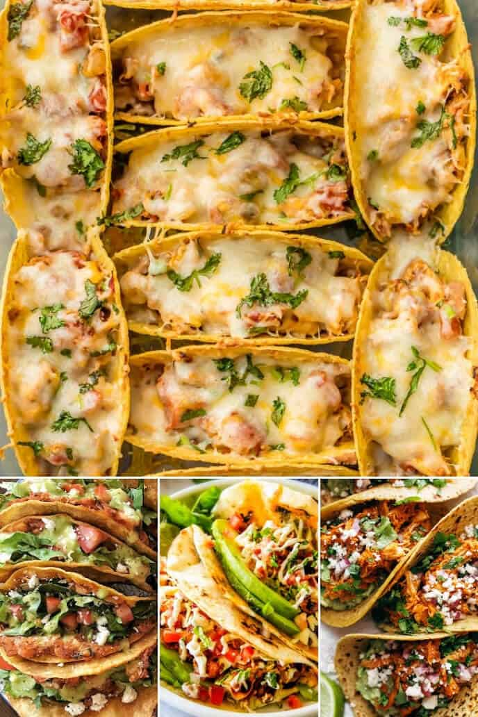 Collection of the best street tacos recipe