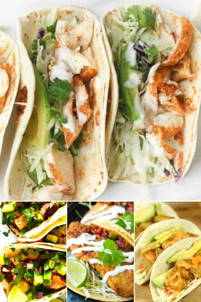 Collection of the best fish taco recipes