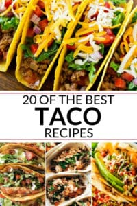 Collection of the best taco recipe
