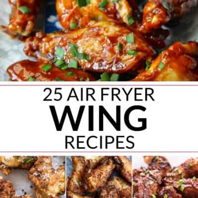 25 Air Fryer Wings Recipes