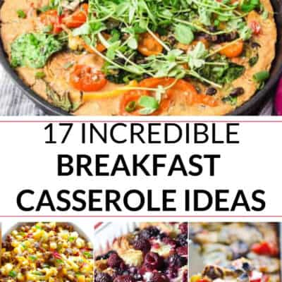 Make Ahead Breakfast Casserole Recipes
