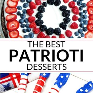 Collection of 4th of July Desserts