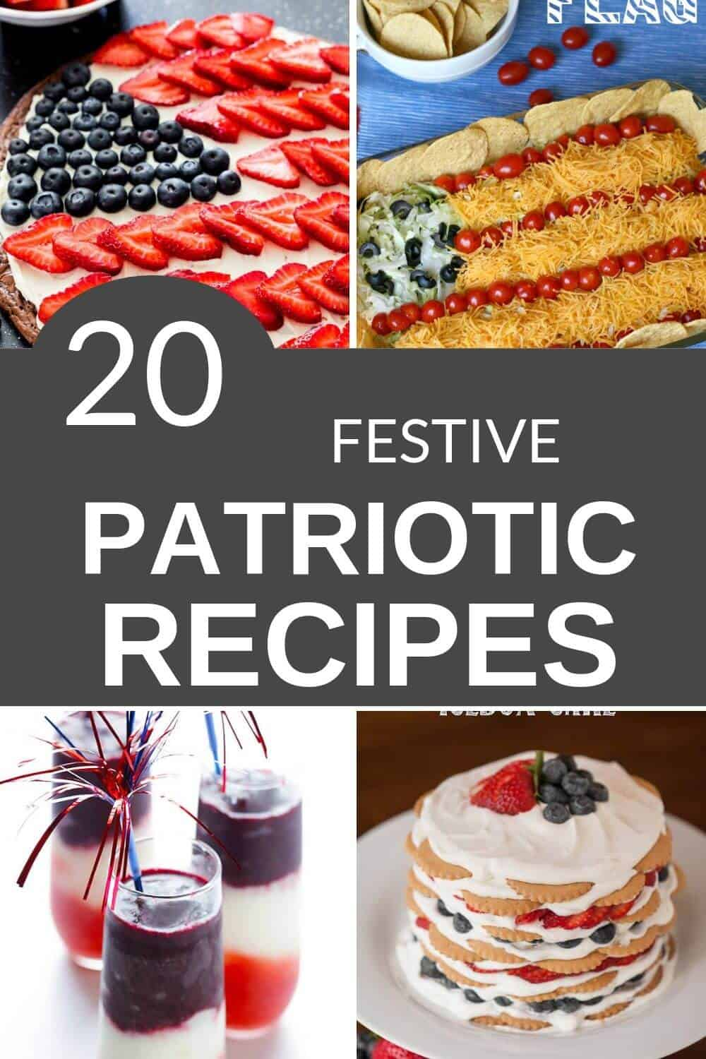 Collection of 4th of july recipes