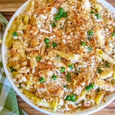 Garlic Parmesan Chicken Pasta