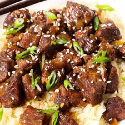 Slow Cooker Korean Beef Bowl