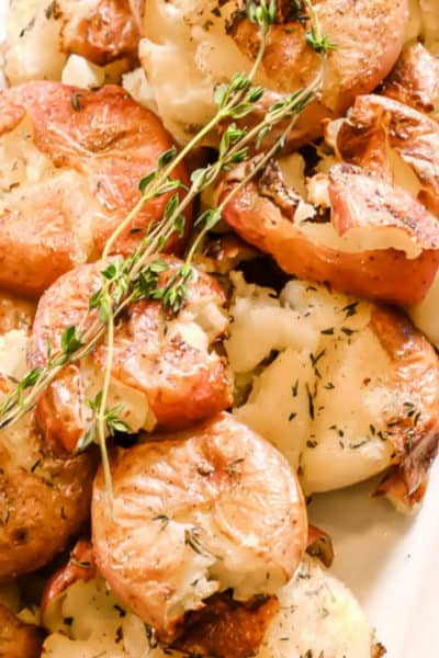 Rosted Smashed Potatoes