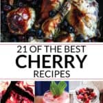 Collection of cherry recipes