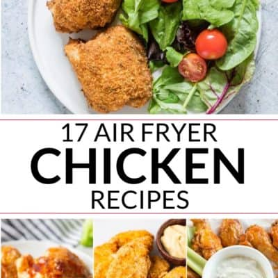 Drool Worthy Air Fryer Chicken Recipes