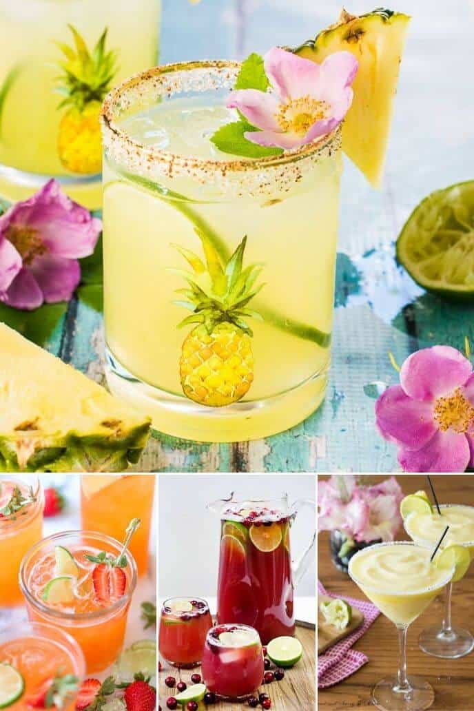 a collection on pineapple cocktails