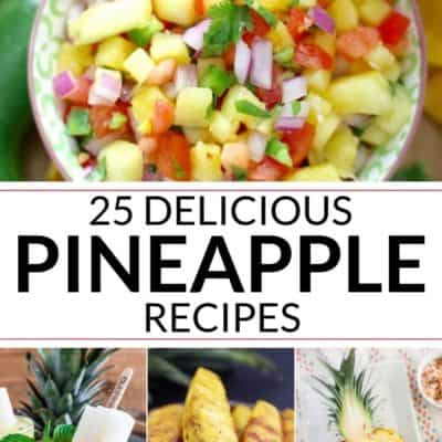 Mouthwatering Pineapple Recipes