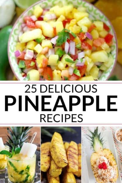 a collection on pineapple recipes