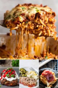 Collection of the stuffed meatloaf recipes