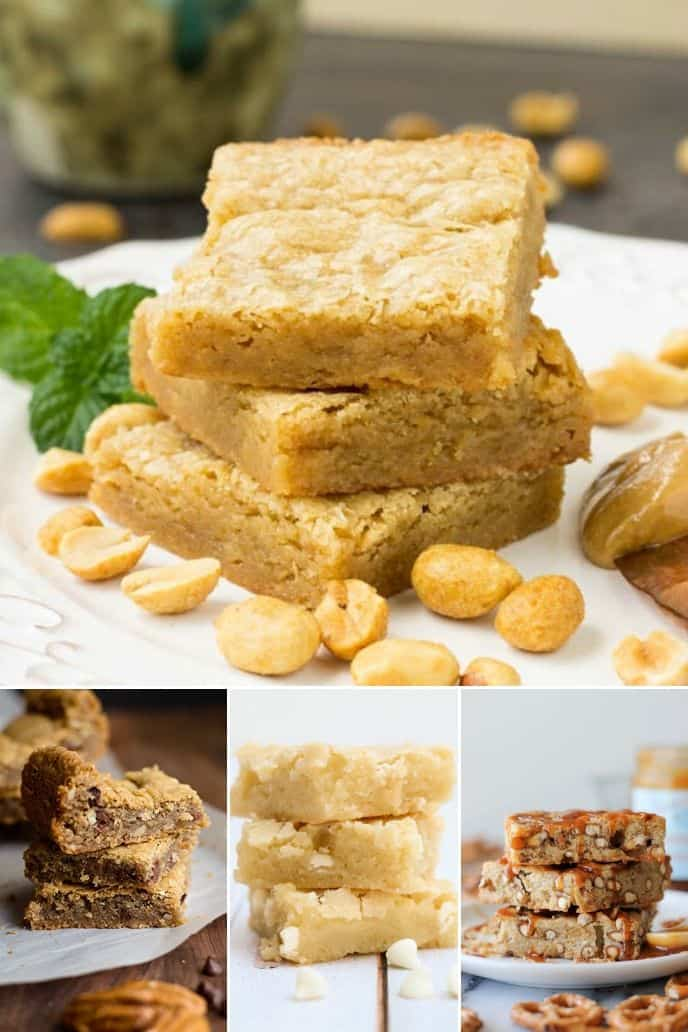 collection of Blondie Chewy Brownie Recipe