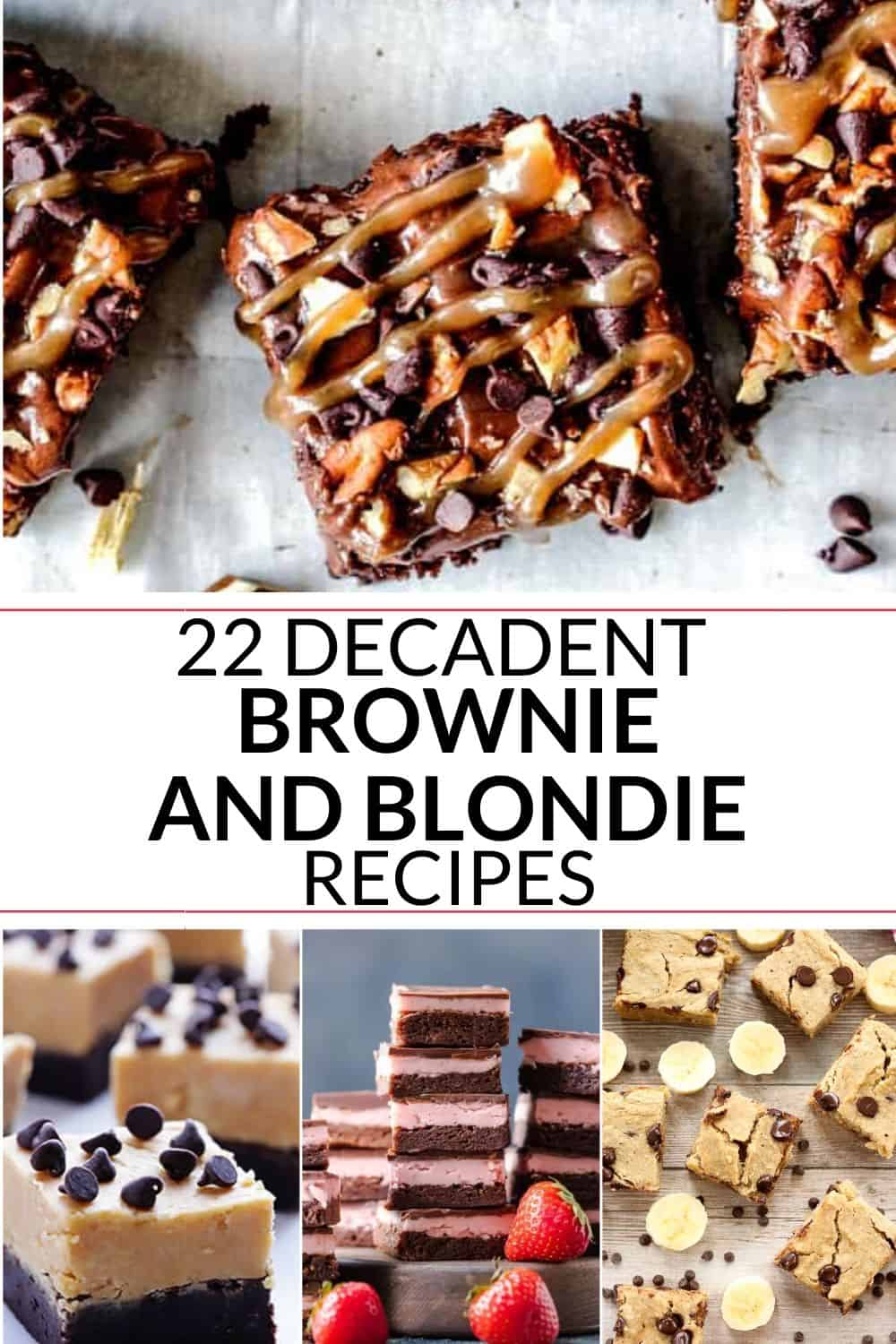 Collection of chewy brownie recipe