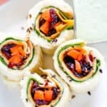 Chicken and Cheddar Sandwich Sushi
