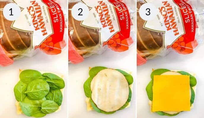 step by step instructions for making sandwich sushi