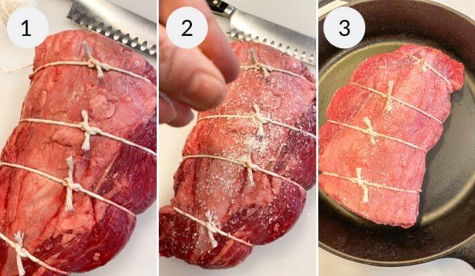 step by step instructions for cooking beef tenderloin roast