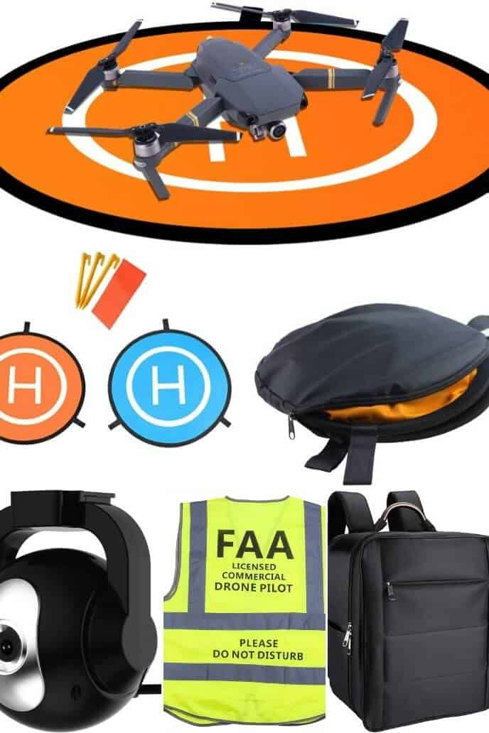 COLLECTION OF Drone Camera and Other Accessories