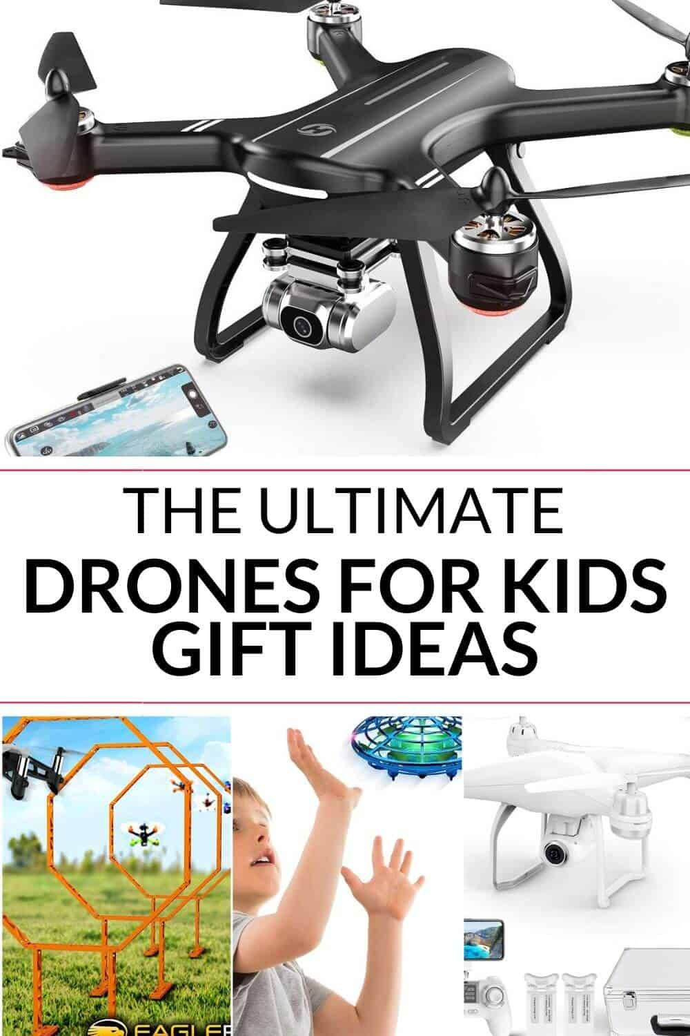 collection of drones for kids