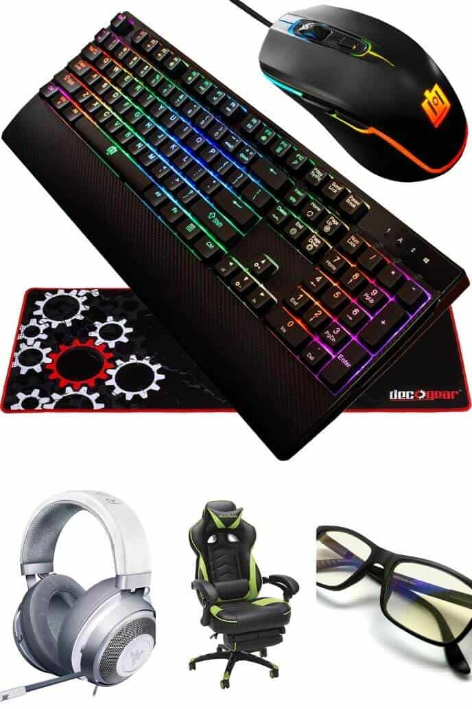 collection of Gear Gifts for Gamers