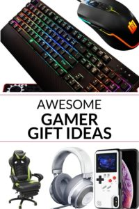 collection of gifts for gamers